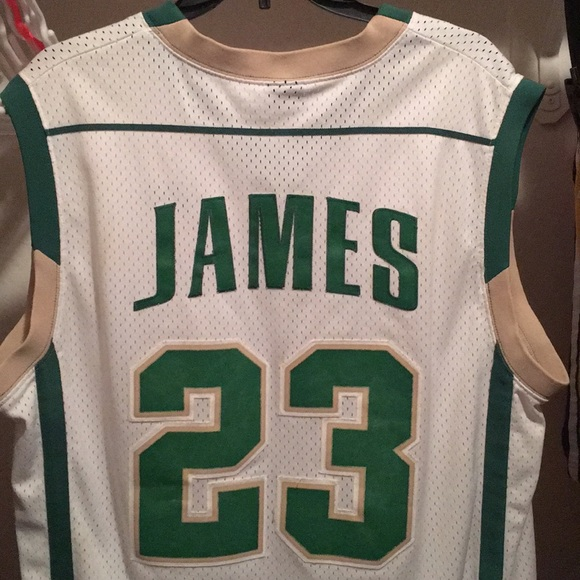 LBJ High School jersey